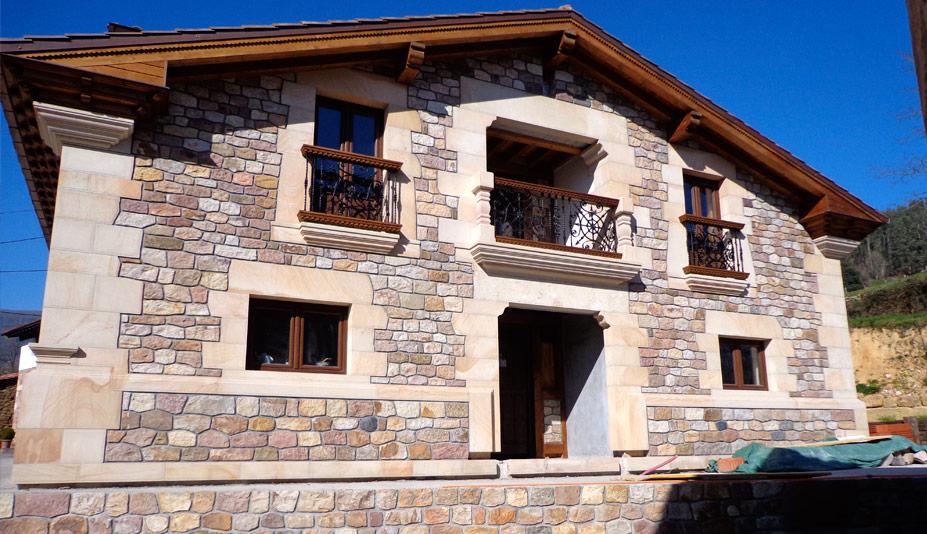 Proyectos de arquitectura r stica ejemplos fotos piedra - Arquitectura rustica moderna ...